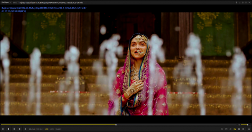 Bajirao Mastani (2015) 4K BluRay Rip HDR10 HEVC TrueHD 5 1 ESub DUS Exclusive